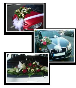 Pour votre mariage cr ation de bouquet de mari e d coration de salle de table et de voiture - Decoration voiture mariage ventouse ...