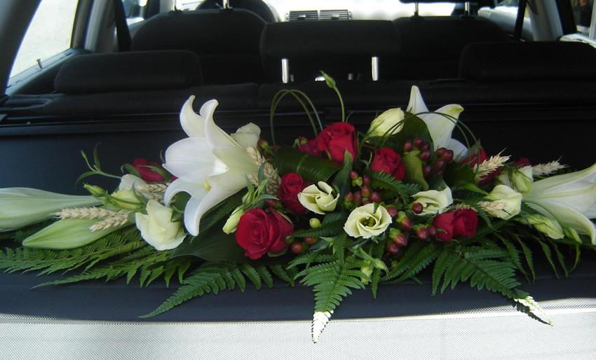 Pour votre mariage cr ation de bouquet de mari e for Decoration maison voiture